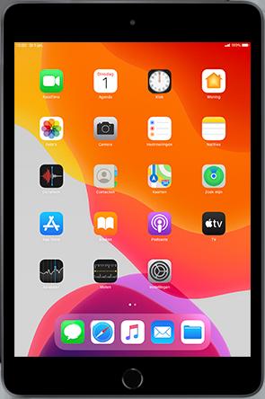 Apple iPad mini 4 - iPadOS 13 - Apps - apps updaten - Stap 1