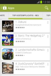 Samsung Galaxy Fame Lite - Apps - Installieren von Apps - Schritt 10