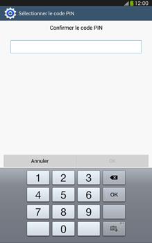 Samsung Galaxy Tab 3 8 4G - Sécuriser votre mobile - Activer le code de verrouillage - Étape 10