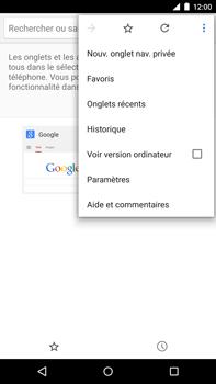Motorola Nexus 6 - Internet - navigation sur Internet - Étape 14