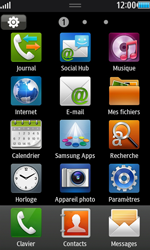 Samsung Wave 2 - E-mails - Ajouter ou modifier un compte e-mail - Étape 3