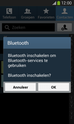 Samsung S7275 Galaxy Ace III - Contactgegevens overzetten - delen via Bluetooth - Stap 9
