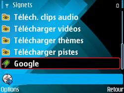 Nokia E71 - Internet - navigation sur Internet - Étape 10