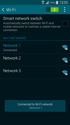 Samsung G900F Galaxy S5 - Wi-Fi - Connect to Wi-Fi network - Step 8
