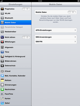 Apple iPad mini - Internet - Apn-Einstellungen - 0 / 0
