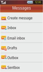 Samsung S5230 Star - E-mail - Sending emails - Step 4