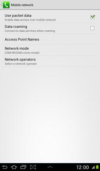 Samsung P3100 Galaxy Tab 2 7-0 - Internet - Manual configuration - Step 6