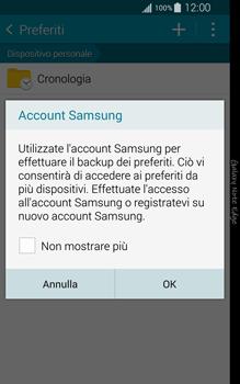 Samsung Galaxy Note Edge - Internet e roaming dati - Uso di Internet - Fase 9