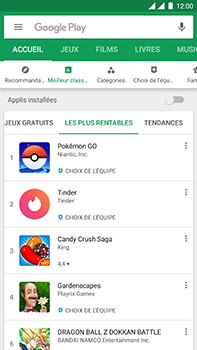 OnePlus 3 - Android Oreo - Applications - Télécharger des applications - Étape 8