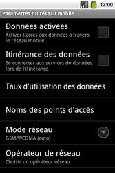 Alcatel OT-991 Smart - Internet - Configuration manuelle - Étape 6