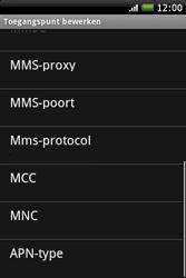 HTC A6262 Hero - MMS - Handmatig instellen - Stap 11