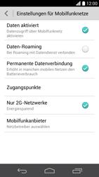 Huawei Ascend P6 LTE - Netzwerk - Netzwerkeinstellungen ändern - Schritt 6