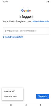 Samsung Galaxy S8+ - Android Pie (SM-G955F) - Applicaties - Account aanmaken - Stap 6