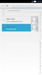 Bouygues Telecom Ultym 4 - Contact, Appels, SMS/MMS - Envoyer un MMS - Étape 7
