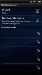 Sony Ericsson Xperia Arc S - WLAN - Manuelle Konfiguration - Schritt 7