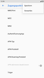 Nokia 8 - Android Pie - Internet und Datenroaming - Manuelle Konfiguration - Schritt 18