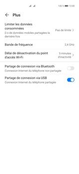 Huawei P40 Pro - Internet et connexion - Utiliser le mode modem par USB - Étape 9