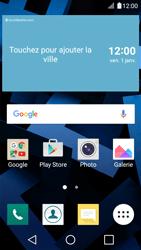 LG K4 - E-mails - Ajouter ou modifier votre compte Gmail - Étape 1