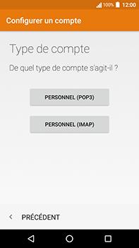Acer Liquid Zest 4G Plus - E-mail - Configuration manuelle - Étape 8