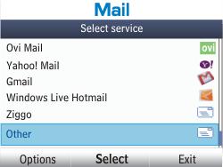 Nokia Asha 201 - Email - Manual configuration - Step 5