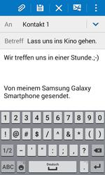 Samsung G388F Galaxy Xcover 3 - E-Mail - E-Mail versenden - Schritt 10