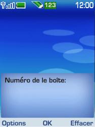 Nokia 6233 - Messagerie vocale - configuration manuelle - Étape 6