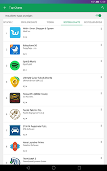 Huawei MediaPad T1 (10.0) LTE - Apps - Herunterladen - 8 / 17