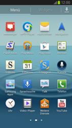 Samsung Galaxy S III LTE - Apps - Einrichten des App Stores - Schritt 3