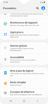 Samsung Galaxy A20e - Applications - Supprimer une application - Étape 4
