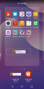 Huawei Y7 (2018) - Operazioni iniziali - Installazione di widget e applicazioni nella schermata iniziale - Fase 9