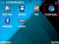 Nokia E71 - WLAN - Manuelle Konfiguration - Schritt 4