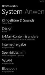 Nokia Lumia 1020 - E-Mail - Konto einrichten - 0 / 0