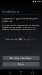 Sony Xperia Z1 Compact - Apps - Konto anlegen und einrichten - Schritt 19