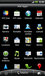 HTC Desire Z - Internet - Manuelle Konfiguration - 15 / 21
