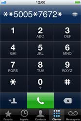 Apple iPhone 3G S - SMS - Configuration manuelle - Étape 6