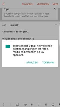 Samsung Samsung Galaxy S6 Edge+ (Android M) - e-mail - hoe te versturen - stap 11