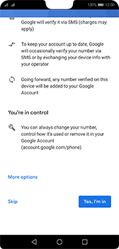 Huawei P20 - Android Pie - Applications - Setting up the application store - Step 13