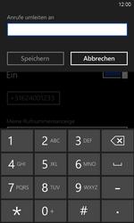 HTC Windows Phone 8S - Anrufe - Rufumleitungen setzen und löschen - 0 / 0