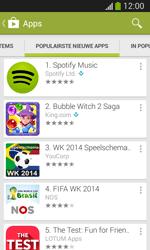 Samsung Galaxy S3 Mini Lite - apps - app store gebruiken - stap 11
