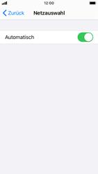 Apple iPhone SE - iOS 14 - Netzwerk - Manuelle Netzwerkwahl - Schritt 5