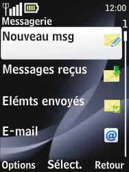 Nokia 2730 classic - MMS - envoi d'images - Étape 3