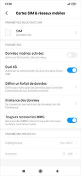 Xiaomi RedMi Note 7 - Internet et roaming de données - Comment vérifier que la connexion des données est activée - Étape 4