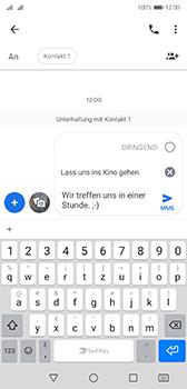 Huawei P20 - Android Pie - MMS - Erstellen und senden - Schritt 14