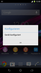 Sony Xperia Z1 Compact - Internet - Automatische Konfiguration - 1 / 1