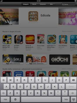 Apple iPad mini - Applicazioni - Installazione delle applicazioni - Fase 4