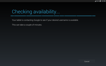 Samsung T805 Galaxy Tab S - Applications - Setting up the application store - Step 10
