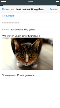 Apple iPhone 6s Plus - E-Mail - E-Mail versenden - 14 / 16