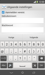 Sony D2005 Xperia E1 - E-mail - Account instellen (IMAP met SMTP-verificatie) - Stap 14