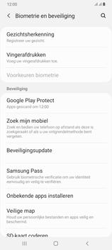 Samsung Galaxy A70 - Toestel - stel Zoek mijn mobiel in - Stap 5