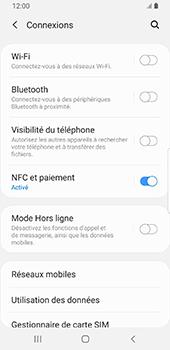 Samsung Galaxy S9 - Android Pie - Internet et roaming de données - Comment vérifier que la connexion des données est activée - Étape 5